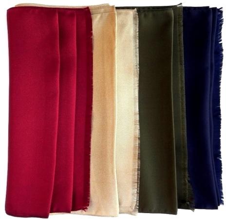 Elegant Silk Scarves
