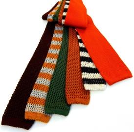 Silk Ties, silk knit ties