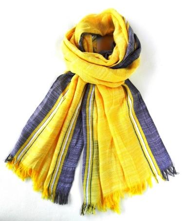 Summer cotton scarf