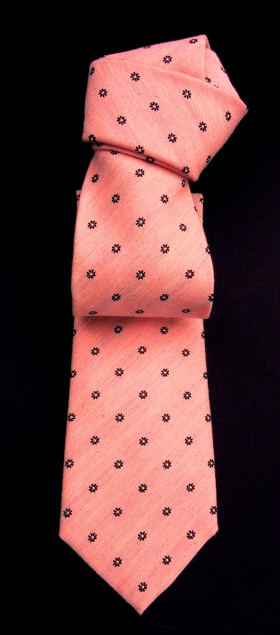 Pink silk tie, fashion, shopping.