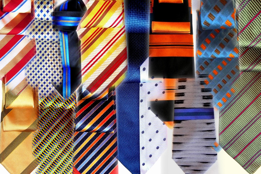 Silk ties. fashion, online shopping