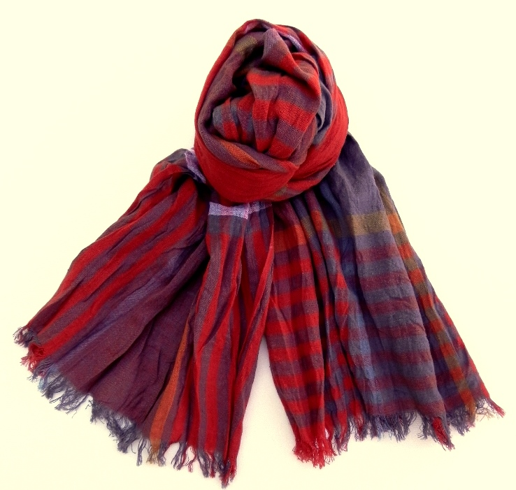Fashion accessories store, scarves, silk ties, bow ties, pocket squares.