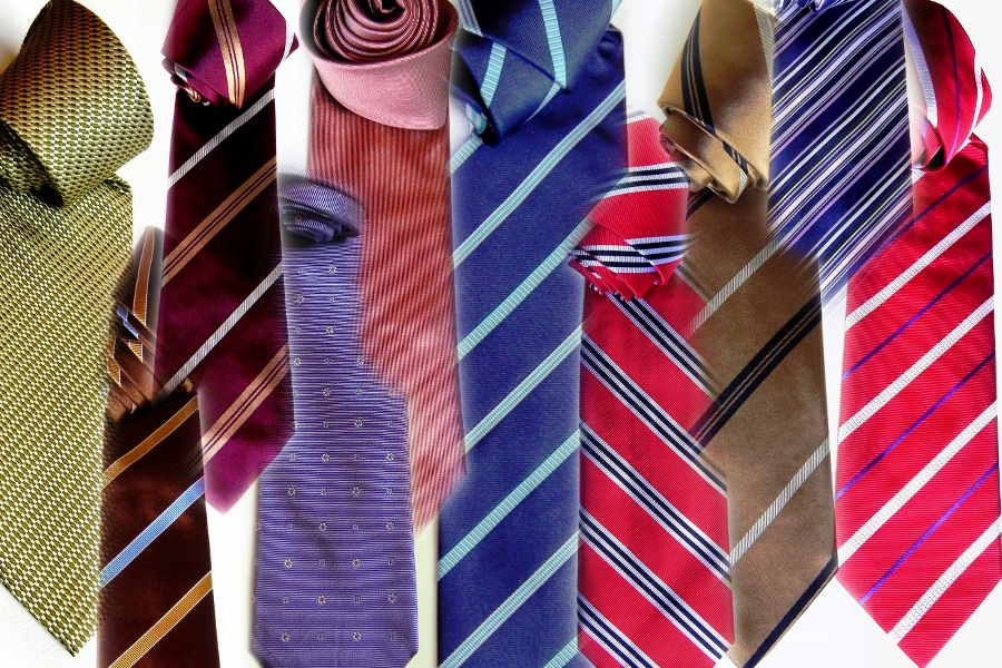 On-line fashion accessories store, silk ties.