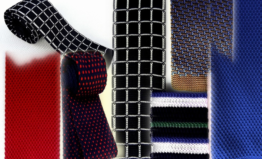 Silk knit ties, silk ties, bow ties, pocket squares, silk scarves,.